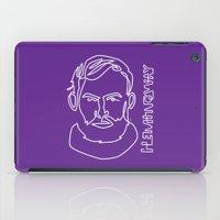 hemingway iPad Cases featuring Hemingway by G_Stevenson