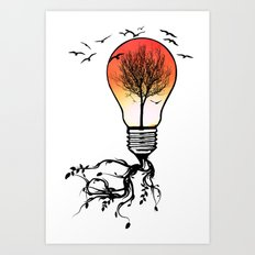Life Light Art Print