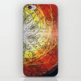 fire wheel iPhone Skin