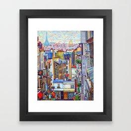 Montmartre View Framed Art Print