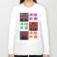 haikyuu Long Sleeve T-shirts featuring OHOHOHO (Bokuto ver) by Fira