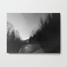 Train ride Metal Print