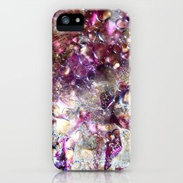 Purple Expiration iPhone Case