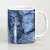 river Mugs featuring River by KunstFabrik_StaticMovement Manu Jobst