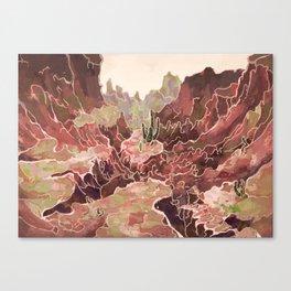 Petal Valley Canvas Print