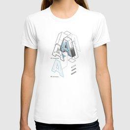 The Exploded Alphabet / A T-shirt
