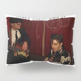 Birds in the Boneyard, Print 12: Mikey & Peter Warm Up Pillow Sham