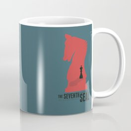 The Seventh Seal, Ingmar Bergman movie poster, swedish film, Max von Sydow Coffee Mug