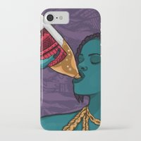 mcfreshcreates iPhone & iPod Cases featuring Drunk Off You by McfreshCreates