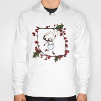 snowman Hoodies featuring Snowman by MadTee