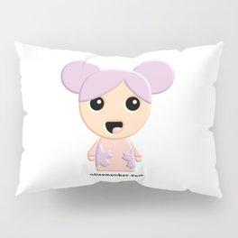 Aiko Kokeshi Doll Pillow Sham