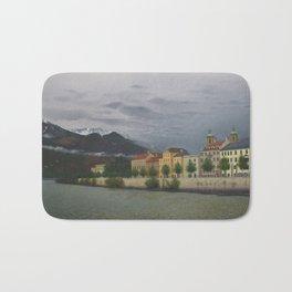 Innsbruck from River Inn Bridge Bath Mat