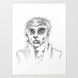 Half Empty Art Print