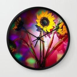Sunfleurs Wall Clock