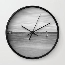 Silence. Inishmore. Ireland Wall Clock