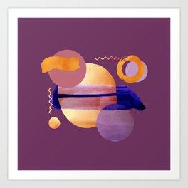 Boho Universe V4 Art Print