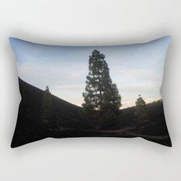 late at arena negra tenerife Rectangular Pillow