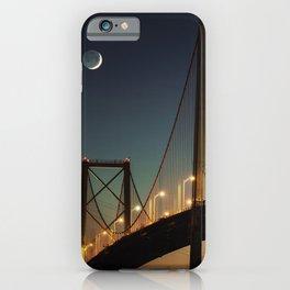 New Moon Bridge iPhone Case