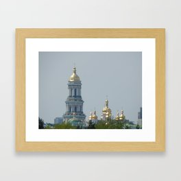 Historical and archaeological buildings and architecture Framed Art Print