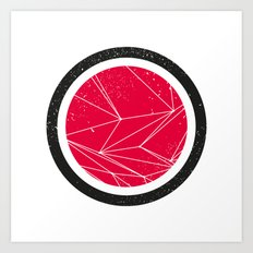 Red Orb Art Print