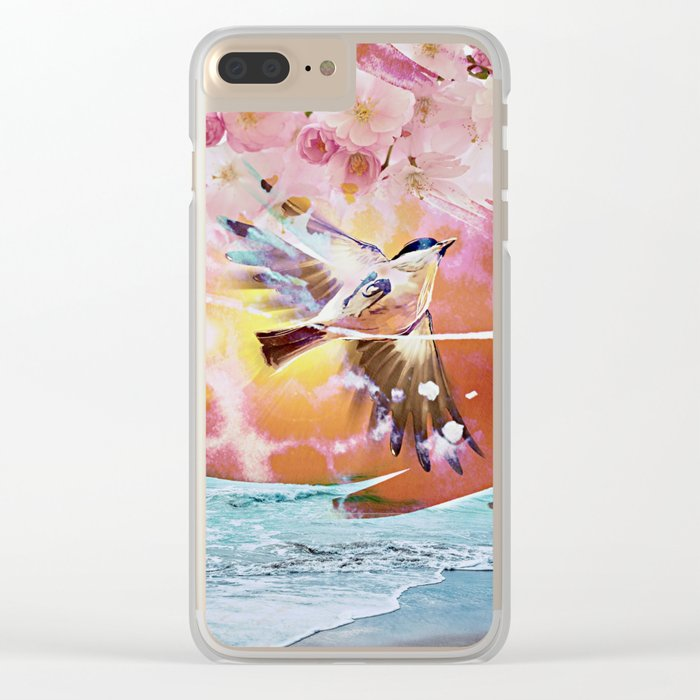 Free as a Bird Clear iPhone Case