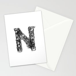 The Illustrated N Stationery Cards