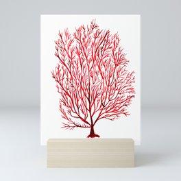 Coral, Seaweed, Nautical Mini Art Print