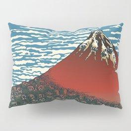 Mount Pugs Fuji Pillow Sham