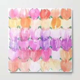 Tulips Galore Metal Print