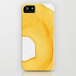 Yellow Ink iPhone Case