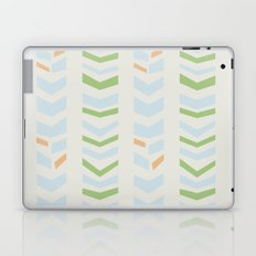Chevron pale Laptop & iPad Skin