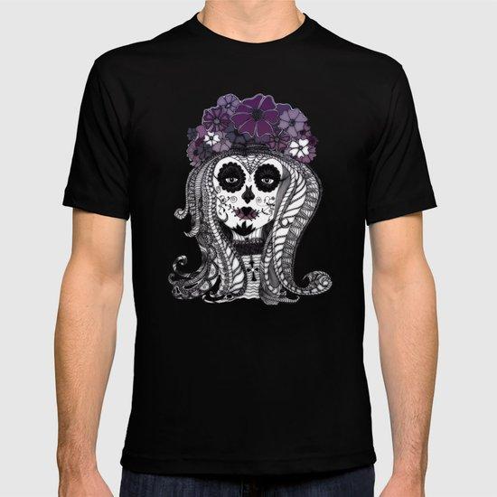 FLOWER CANDY SKULL T-shirt