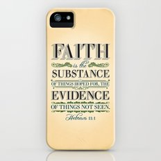 The Substance of Things Hoped for . . . Slim Case iPhone (5, 5s)
