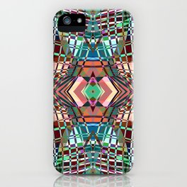 SWEEPING LINE PATTERN II-A3 iPhone Case