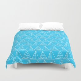Triangles- Simple Triangle Pattern for hot summer days - Mix & Match Duvet Cover