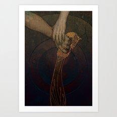 Iberia Art Print