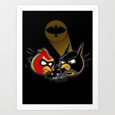 Batbird & Robin Art Print