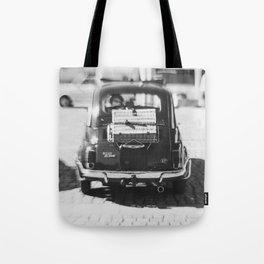 fiat 500 car - his Tote Bag