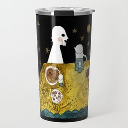 """Baku"" illustration Tarmasz Travel Mug"