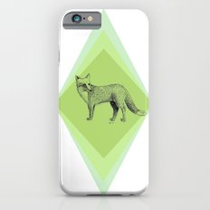 fox in forest iPhone 6s Slim Case
