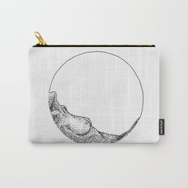 Naked woman in a circle Carry-All Pouch