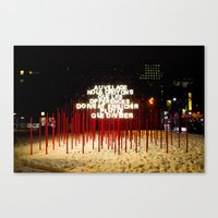 montreal Canvas Prints featuring Montreal by Yang Jiang