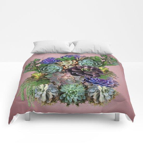 Succulent gardens Comforters