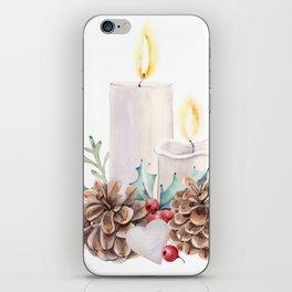 HOLLY JOLLY iPhone Skin