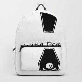 Living Dead Girl | Zombie Girl Dead Inside  Backpack