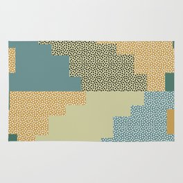 Shapes and dots Rug