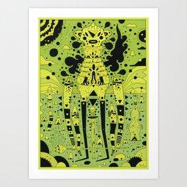 fungus Art Print