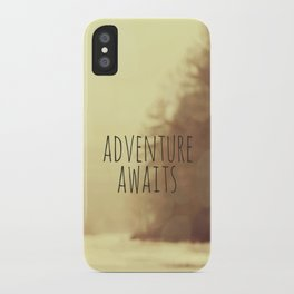 Adventure Awaits II iPhone Case