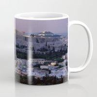 greece Mugs featuring Greece by ''CVogiatzi.