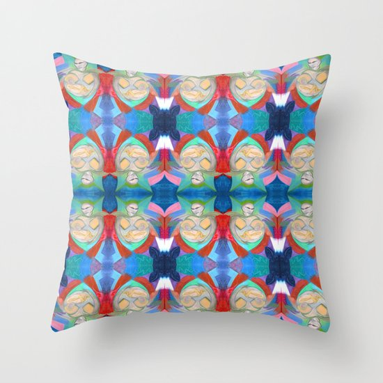 Madonna and Child ~ Redux Throw Pillow